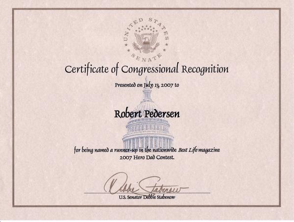 Jpegcongressionalrecognition